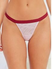 Urban Outfitters Kamaryn Berry Lace Thong Size Small