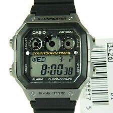 Casio reloj diver merc retro surf cronograph watch orologio uhr aviator g shock