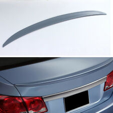Unpainted Trunk Spoiler Boot Wing Lip Factory For Chevrolet Chevy Cruze 11-13