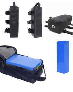 Electric Bike Bag Storage Bicycle E-bike Protective PVC 18650 Battery Pack Case