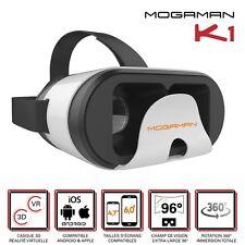 """Mogaman® K1 Casque de réalité virtuelle smartphones Android et iOS (4,7 à 6,0"""")"""