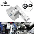 For Honda K24 adjustable Eliminator EP3 Pulley kit + Belt A/C Auto Tensioner