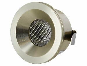 LED Mini Spot Aluminium Recessed Spotlight 230V 3W 260lm Daylight White