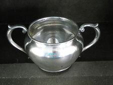 Vtg 2-Handled Sterling Silver Open Sugar Bowl-Newport (Gorham TM)-c 1950s-60 g