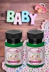 (2) Organic Cassava Root Fertility Pills - Vitamin Supplement for Twins