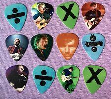 ED SHEERAN Guitar Picks Set of 12