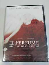 EL PERFUME HISTORIA DE UN ASESINO DVD TOM TYKWER ESPAÑOL ENGLISH NEW SEALED