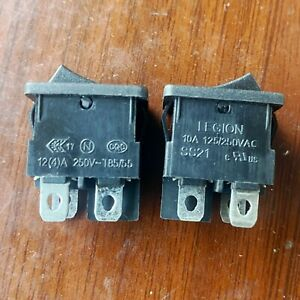 1PCS/5PCS LEGION SS21 Rocker Switch 4 Pins 2 Positions 12A 125/250VAC