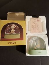 New In Box Precious Moments May Water Dome of the Month March 1987