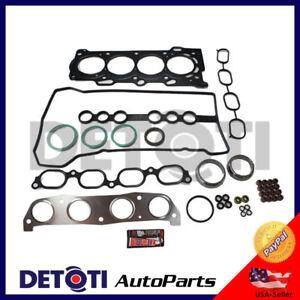 Head Gasket Set Kit For 98-08 Toyota Corolla VE LE 1.8L I4 Engine Code 1ZZFE MLS