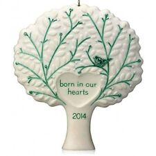 Hallmark 2014 Ornament Born in Our Hearts, Adoption