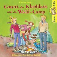 CONNI - K.SANDER: CONNI,DAS KLEEBLATT UND DAS WALD-CAMP  2 CD NEU