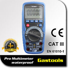 DIGITAL MULTIMETER PRO ELECTRICIANS TESTER WATERPROOF AUTO RANGE