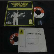 ARTHUR CONLEY - People Sure Act Funny Rare French PS Funk 68' BIEM Terrible R&B