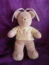 Doudou ours musical  jaune personnage enfant  TEX