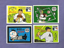 you pick any card- 1970 + 1971 (not 1968) Fleer Laughlin World Series set lot