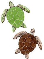 Mosaic Loggerhead Turtles Swimming Pool wall table bar counter top patio deck
