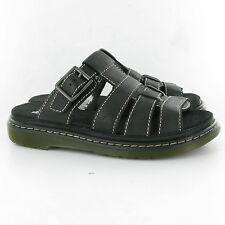 Dr. Martens Women`s Brigid Open Toe Leather Sandal Black US 8 EU 39 UK 6