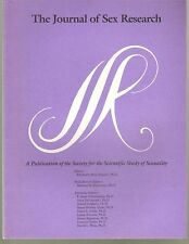 Journal of Sex Research, vol 33, #4 (1996) - scholarly quarterly