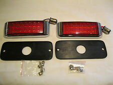 "1941 FORD STYLE LED Rear RED  Lights stop,tail,turn  21 LED,s 1-7/8"" x 5-1/8"""