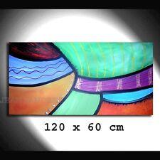 Abstrakte Original künstlerische Malereien auf Leinwand direkt vom Künstler