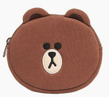Line Friends Character Brown Coin Purse (New)