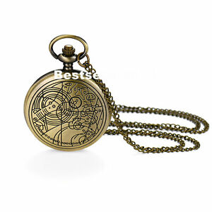 Vintage Pocket Watch Analog Quartz Pocket Watches with Chain Christmas Gift