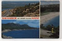 Bar Harbor Mt Desert Island,Maine Postcard
