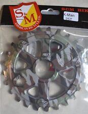 S&M X-Man 25 T Sprocket in CAMO WRAP for BMX Park Street Bike X Man