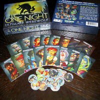 One Night Ultimate Werewolf Board Game Playing Cards Gifts Party Toys Game UK