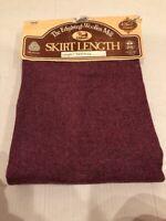 Vintage Edinburgh Woolen Mill Skirt Length Fabric Scotland 1 Yard Island Weave