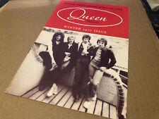 Queen Winter 1977 Rare Original Fanclub Magazine Excellent