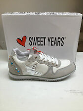 SCARPE SNEAKERS DONNA SWEET YEARS NUOVE CON SCATOLA