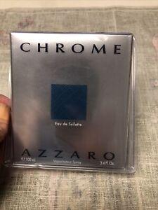 Chrome by Azzaro 3.4 oz Eau De Toilette Spray for men New In Box Sealed
