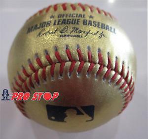 Official Rawlings MAJOR LEAGUE BASEBALL ROMLB GOLD Baseball