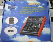 Audio 2000'S Professional Four-Channel Audio Mixer Amx7311