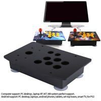 Hot Handle Arcade Game Set Kit Arcade Joystick Acrylic Panel &Case Replacement