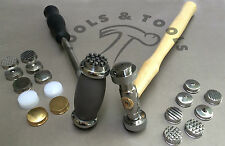 TEXTURING HAMMERS 9 OR 12 FACES/ HEADS DESIGN PATTERNS JEWELLERY METAL REPOUSSE
