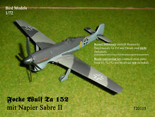 Focke Wulf Ta 152 mit Napier Sabre II  1/72 Bird Models UMbausatz/conversion kit