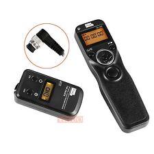 Wireless Timer Shutter Release Remote Control For Nikon D810 D800 D800E D700 D4