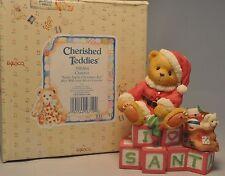 Cherished Teddies - Clarence - 500364 - Santa Spells Christmas Joy