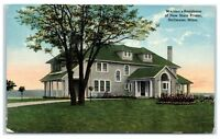 """Early 1900s Warden's Residence, """"New"""" State Prison, Stillwater, MN Postcard"""