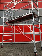 KiezGerüst Klapp Fahrgerüst Rollrüstung Gerüst Zimmergerüst Ah. 385 m erweiterb