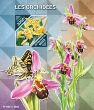 Niger - 2015 Orchids on Stamps - Stamp Souvenir Sheet - NIG15517b