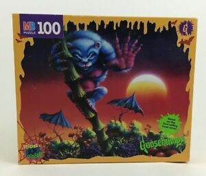 The Beast From the East Goosebumps Jigsaw Puzzles MB 100 Piece Vintage 1996