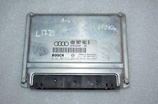 L-1721 AUDI ENGINE CONTROL UNIT ECU 4B0907401D / 0281001837 / D60