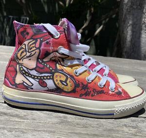 Converse All Star Chuck Big Doves Graffiti Artist Charlie Doves M6