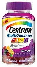 Centrum Women MultiGummies Multivitamin / Multimineral Supplement Gummies 150 ct