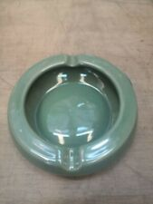 Green Ceramic Round Ashtray