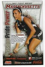 New listing 2013 Massachussetts College Field Hockey Schedule !!!
